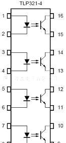 仙童光耦 仙童光电耦合器光耦TLP321-4